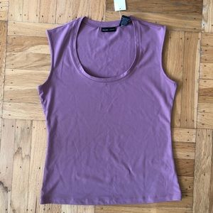 Lavender tank top from New York & Company